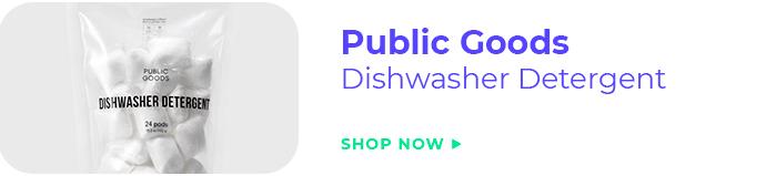 Public Goods Dishwasher Detergent