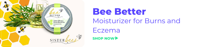 Bee Better Moisturizer for Burns and Eczema
